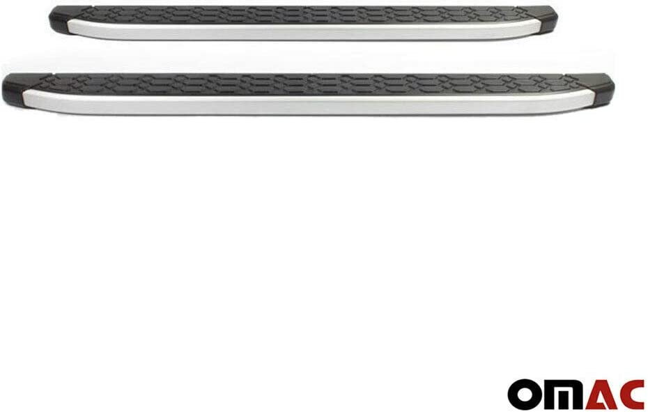 Aluminium Trittbretter f/ür IX35 ab 2010 Schweller Seitenbretter Seitenschweller aus Edelstahl Chrom