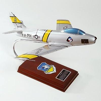 Mastercraft Collection MCF86FBW F-86F Sabre Wood Desktop Model