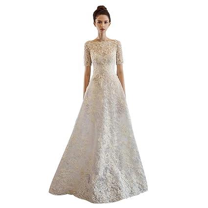 Vestidos de novia crema