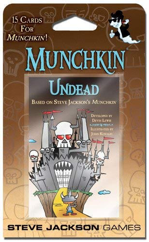 Steve Jackson Games Munchkin Undead Card Game]()