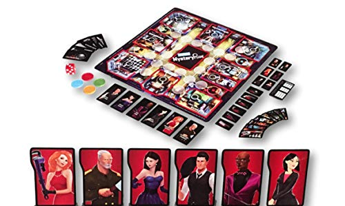 Parker Brothers Mystery Game 8+ Your The Detective Solve Crime to Win (3-4 Players) from Parker Brothers