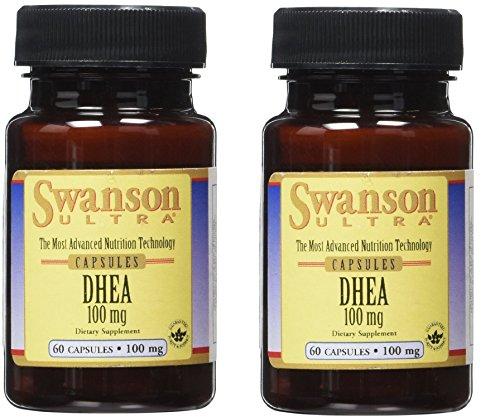 Swanson Dhea 100 Mg 60 Caps (60 X 2