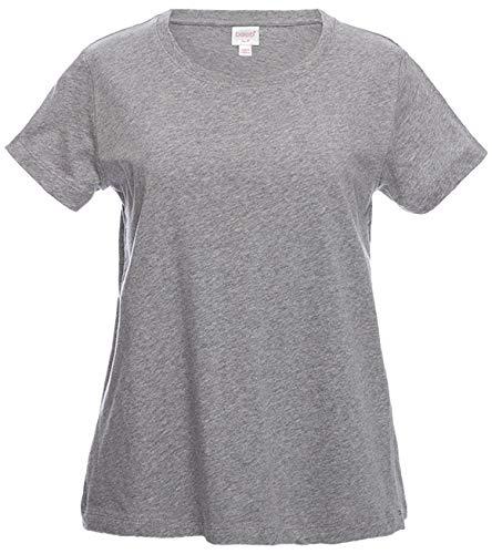 Boob Design SHIRT レディース B07H4C8XVQ X-Small|グレー(Grey Melange) グレー(Grey Melange) X-Small