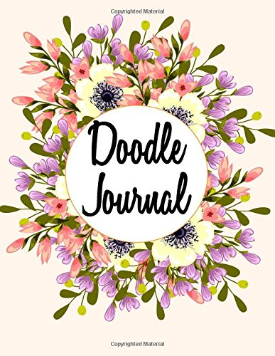 Doodle Journal: Graph Paper Notebook, 8.5 x 11, 120 Grid Lined Pages (1/4 Inch Squares)