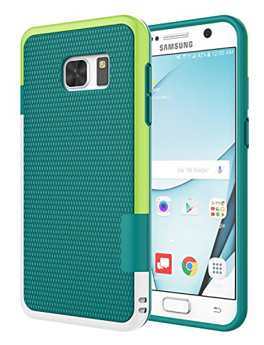 Galaxy S7 Case, Jeylly [3 Color] Slim Hybrid Impact Rugged Soft TPU & Hard PC Bumper Shockproof Protective Anti-Slip Case Cover Shell for Samsung Galaxy S7 S VII G930 GS7 - Green
