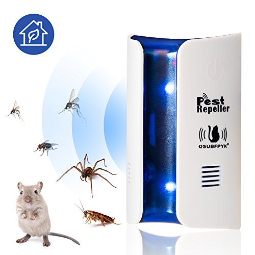 Pest Repeller 2018 New technology Ultrasonic Pest Repeller,electromagnetic Pest Repeller - Insects,rats,spiders,cockroaches,ants,mosquitoes.Environment,human and pet safety pest control plugs