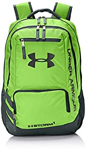 Under Armour Storm Hustle II Backpack, Hyper Green/Stealth Gray, One Size