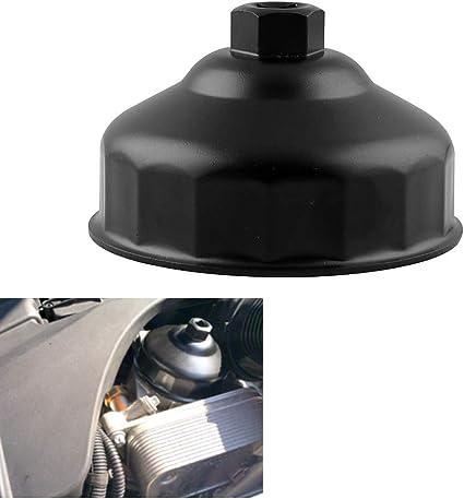 kit de cl/é /à Douille pour BMW LEIWOOR Cl/é /à Filtre /à Huile 16 cannelures pour BMW avec bo/îtier de Filtre de Style Cartouche de 86 mm Outil de Retrait de Bouchon de Filtre /à Huile