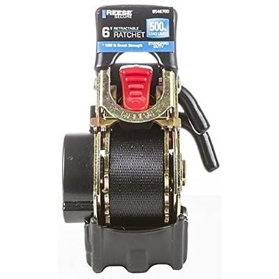 Reese 9546700 6' Standard Duty Retractable Ratchet: Automotive