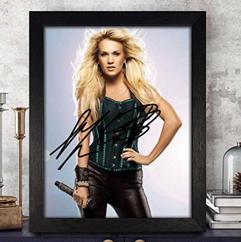 - Carrie Underwood American Idol Autographed Signed 8x10 Photo Reprint #70 Special Unique Gifts Ideas Him Her Best Friends Birthday Christmas Xmas Valentines Anniversary Fathers Mothers Day