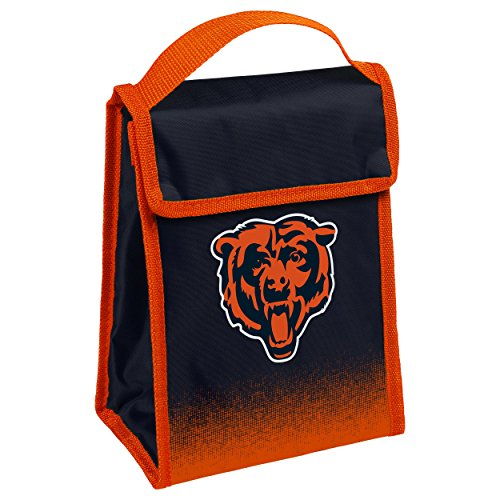 Chicago Bears Gradient Velcro Lunch Bag ()