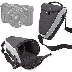 DURAGADGET Funda Para Las Cámaras Nikon Coolpix A300 | A900 | B500 | B700 - Con Banda Para Cinturón
