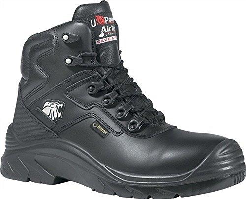 Stivali di sicurezza EN20345S3HRO HI SRC Drop GTX GR. 46Pelle liscia Nero w.11