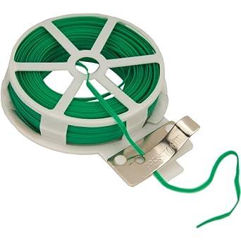 Silverline 633968 - Cuerda de alambre plastificado para el jardín (30 m): Amazon.es: Industria, empresas y ciencia