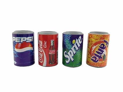 4 piezas Lata de Coca Cola imán de pared colección 3d imán para ...
