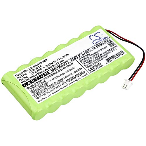 C & S 2000mAh Battery for Huaxi HX-901A Syringe Pump by C & S