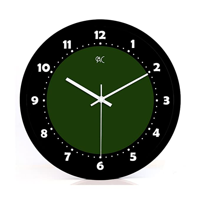 MANLADA Campus Silent Wall Clock, Sala de Billar Hall Store ...