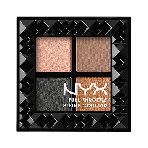 NYX Cosmetics Full Throttle Shadow Palette Take Over - Palette Control