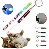 maziPET Katze Pointer Interaktives Spielzeug LED-Licht Pets Training Übungen für Katzen und Kätzchen (2 Stück)