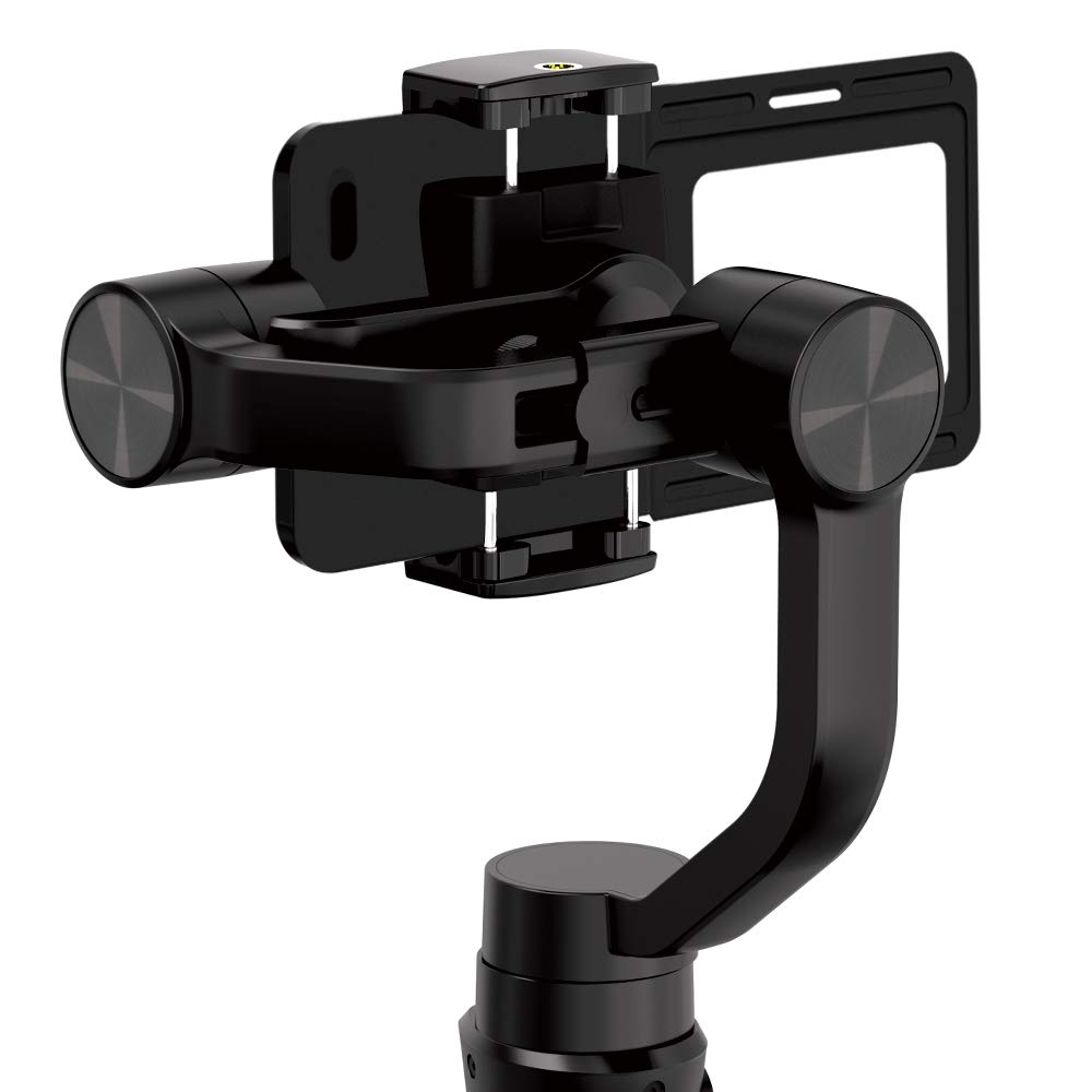 Hohem iSteady Mobile 2 Used on iPhone Gimbal etc. DJI Osmo Mount Plate GoPro Adapter for GoPro Hero 7 6 5 4 3+ Zhiyun Smooth 4 Q Hohem Action Camera Adapter for Smartphone Gimbal