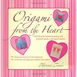Origami from the Heart Kit: [Origami Kit with Book, 48 Papers, 16 Projects]