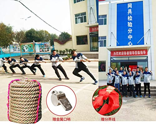 Tug of War Rope Popular Indoor/Outdoor Family Games School Sports Day Garden Party Games Pub Games Family Fun Team Building (Color : Diameter 4cm, Size : 15m) by BAI-Fine (Image #5)