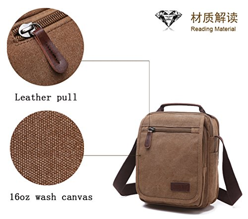 Travel Black Shoulder for Women ENKNIGHT Crossbody new1 Purse handbags Bag Nylon wPxWOYzqf