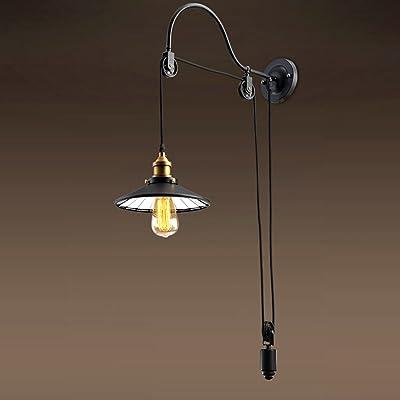 Bon GUOQ Rétro Style Industriel Fer Luminaire Applique Murale Minimaliste Design  Réglable Créatif Couloir Lampe Murale Pour Pour Décoration De Maison ...