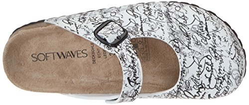 073 white Softwaves 276 Sabots Femme Weiß w55XxrAq