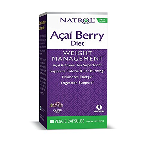 Acai Diet Caps By Natrol - 60 Capsules, 3 (Acai Berry Diet)