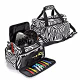 LuckyFine Salon Hair Tools Hairdressing Bag Carry Case Diaper...