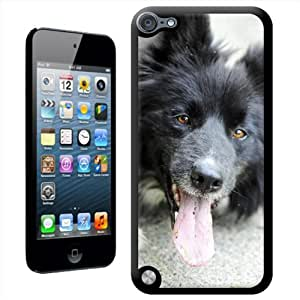 Fancy A Snuggle 'de perro Border Collie' carcasa para Apple iPod Touch 5th generación