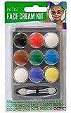 zebra face paint - Shop72 - Mini Face Cream Paint Set - Face Paint Kit - Full Face Painting White Black Red Green Blue Yellow Brown Purple Face Paint