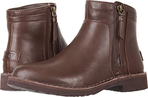 Ugg Casual Boots Womens (UGG Women's Rea Leather Fashion Boot, Stout, 6 M US)