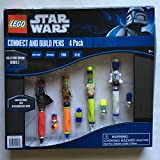 : Lego Star Wars Connect and Build Pen Set 4-pack