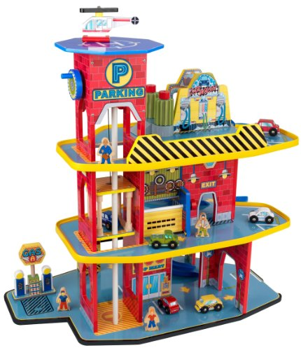 car garage playset - 6