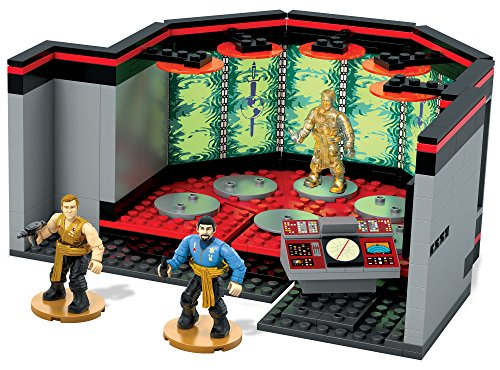 (Mega Bloks Star Trek Transporter Room Building Set)