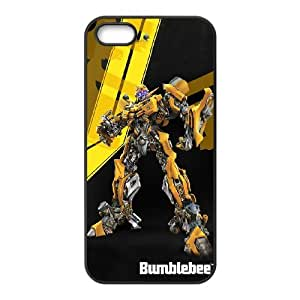 Generic hard plastic Little buddy Bumble Bee Cell Phone Case for iPhone 5 5S SE Black ABC8354489