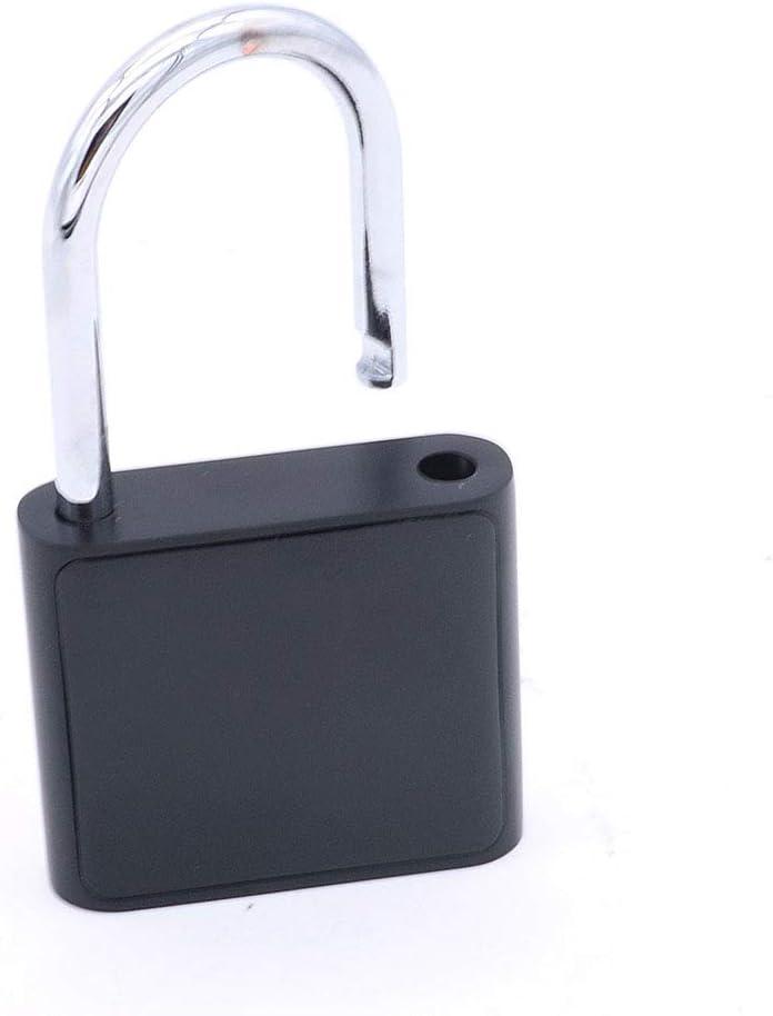 Gep/äckkoffer Fingererkennung NUZAMAS Fingerabdruck-Vorh/ängeschloss intelligentes biometrisches Diebstahlschutzschloss Schlie/ßfach im Fitnessstudio intelligentes Keyless-Sicherheitsschloss
