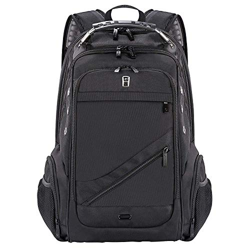 Laptop Backpack, Sosoon Business Bags with USB Charging Port Anti-Theft Water Resistant Polyester...