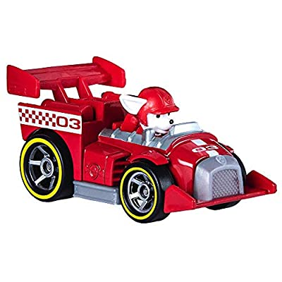 Paw Patrol Marshall Ready Race Rescue Diecast Car 1:55 Scale: Everything Else