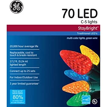 Ge C6 Led Christmas Lights