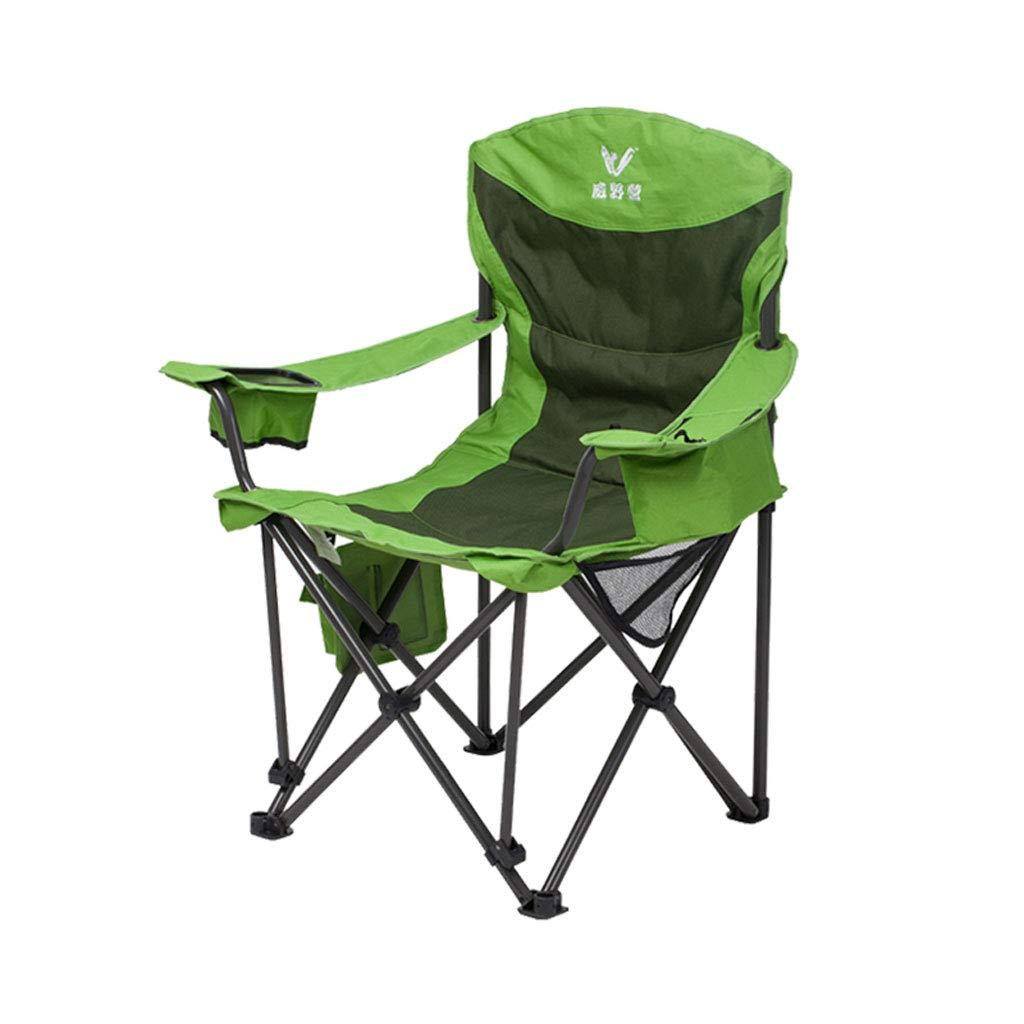 Silla de Camping Silla cómoda Sillón Simple Silla Plegable Silla portátil para Exteriores Silla Director Silla