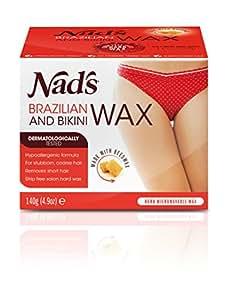 Nad's Brazilan & Bikini Wax Kit, 4.9-Ounces