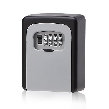 Boîte à Clé Key Safe Box Boîte De Rangement Mural Sécurisé Pour Les