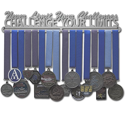 Allied Medal Hangers Challenge Your Limits (18 Wide with 1 Hang bar)