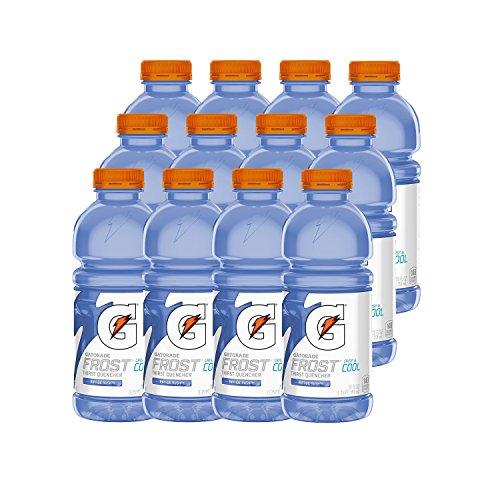 Gatorade Frost, Riptide Rush, 20 Ounce Bottles (Pack of 12)