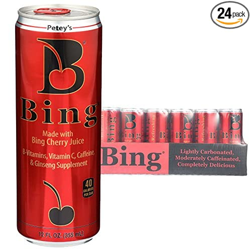 Bing Beverage Company Bing Cherry, 12- Fl  Oz (Pack of 24)