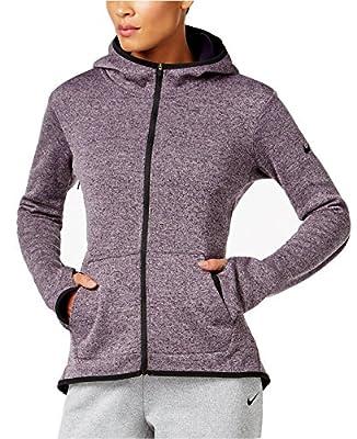 Nike Women's Hypernatural Therma Full Zip Training Hoodie