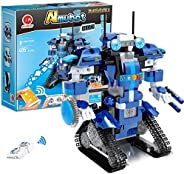 GP Toys STEM Robot Building Kits for Kids- Remote Control Engineering Science Educational Learning Science Bui